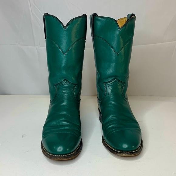 "Justin Women's Classic Roper Boot 10"" Tall Size 7"